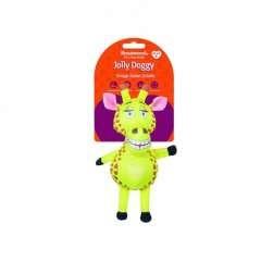 Peluche de jirafa Jolly Doggy color Amarillo