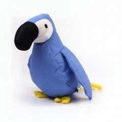 Peluche de loro Beco Lucy para perros color Azul