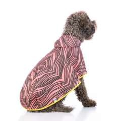 Capa de lluvia Lola Softshell para perros color Rosa