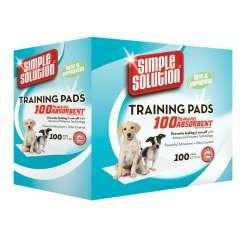 Paquete de 100 empapadores de entrenamiento para cachorros