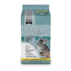 Arena limpiadora para roedores