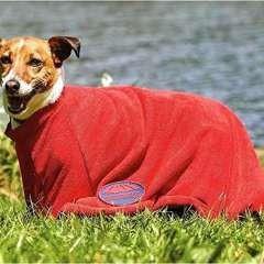 Toalla para perros color Rojo