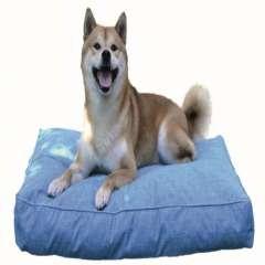 Cama colchón viscoelástica ortopédica Salud para perros color Azul