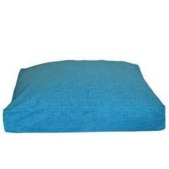 Colchón para perros viscoelástico Salud en azul