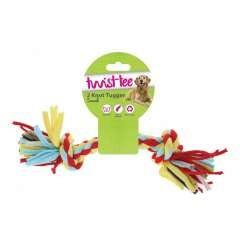 Cuerda de juguete con 2 nudos para perros color Varios