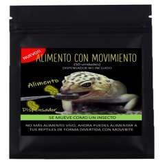 Alimento para Gecko Leopardo y Pogona sabor Tenebrio