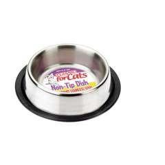 Cuenco para la comida de los gato color Metálico