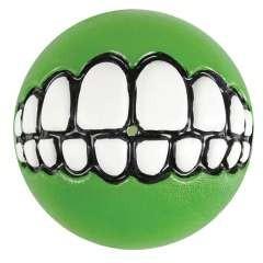 Juguete pelota Grinz portagolosinas para perro color Verde