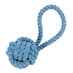 Cuerda con pelota de juguete para perros color Varios