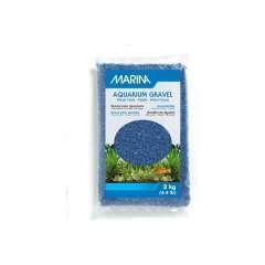 Grava Marina para acuarios color Azul