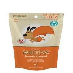 Snack dentales Multiva Breath Control para perros