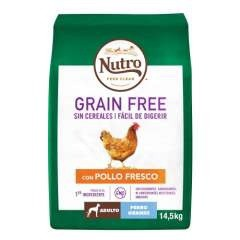 Nutro Grain Free con pollo para perros grandes
