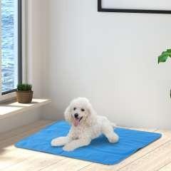 Cama rellena autorefrigerante PawHut para mascotas color Azul