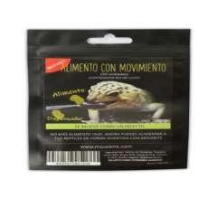 Alimento Gecko Leopardo y Pogona Movebite bolsa sabor Tenebrio