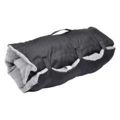 Colchón de viaje para perros color Negro