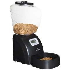 Dispensador automático de pienso para mascotas color Negro