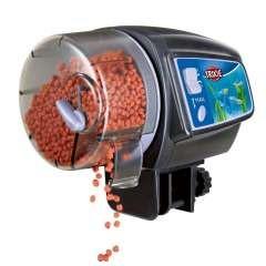 Dispensador automático de alimentos para peces