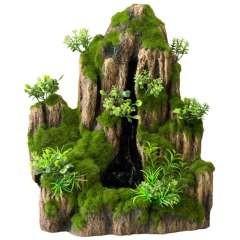Cascada para decoración de acuarios color Verde