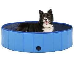 Piscina refrescante para perros color Azul