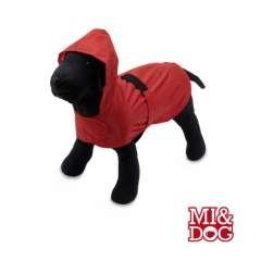 Chubasquero impermeable para perros color Rojo
