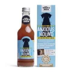 Bebida calmante para perros ansiosos