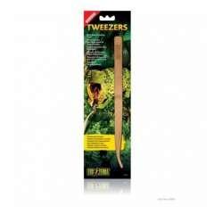 Pinzas de alimentación de bambú para reptiles