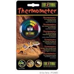 Termometro redondo para terrarios