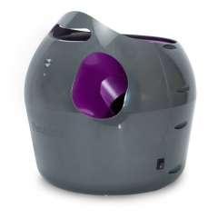 Lanzador de pelotas automático para perros color Gris