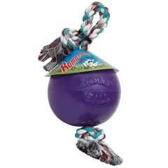 Pelota con cuerda para perros color Púrpura