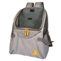 TransportÃn mochila para mascotas color Gris