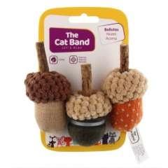Set de bellotas con catnip para gatos