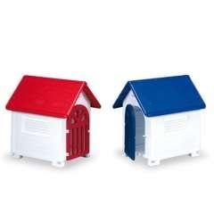 Caseta de plástico con puerta para perros color Varios