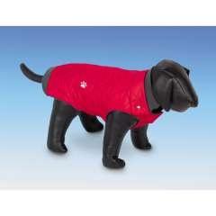 Abrigo con forro polar Nina para perros color Rojo
