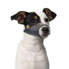 Bozal de nylon para perros color Negro