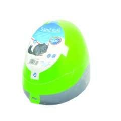 Baño para hamster color Verde
