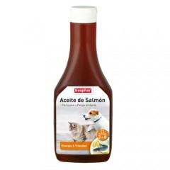 Aceite de salmón para perros Beaphar