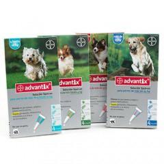 advantix dog triple protection antiparasitic pipettes