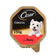 Tarrina Cesar en Paté de Buey para perros