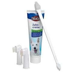 Set de higiene dental completo para perros
