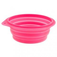 Bowl de silicona de viaje expandible para mascotas