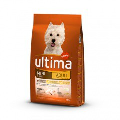 ultima mini adult rich in chicken amp rice dog food
