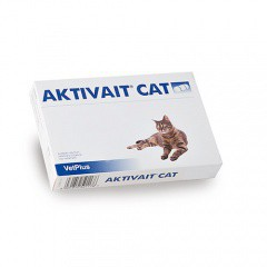 Aktivait suplemento contra el envejecimiento cerebral de gatos