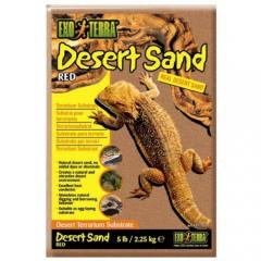 Arena del desierto Roja para terrario