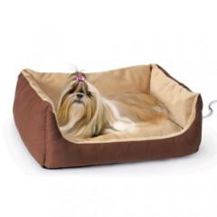 Cama calefactora eléctrica para perros y gatos