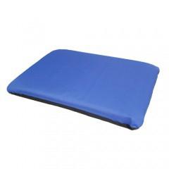 Cama para perros y gatos TK-Pet Traveller tipo colchoneta desenfundable azul