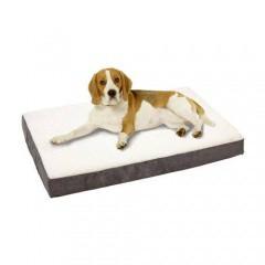 Colchón ortopédico para perros TK-Pet color gris