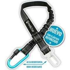 Cinturón de seguridad coche Pet&Car Foxtrot para perros color Azul/Negro