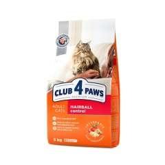 Club 4 Paws control de bolas de pelo pienso seco para gatos Pollo