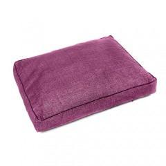 Colchón para perros TK-Pet Iris desenfundable color morado deluxe