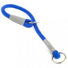 Collar de entrenamiento nylon redondo para perros Varios colores Color Azul